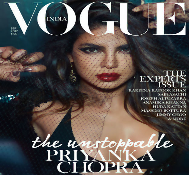 Priyanka Chopra talks to Vogue India